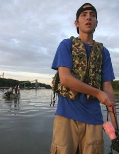 Mike Brown flying carp