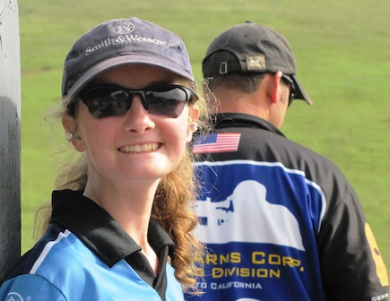Molly Smith Junior Captain Smith & Wesson team