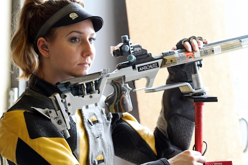Olympic rifle shooter Amanda Furrer