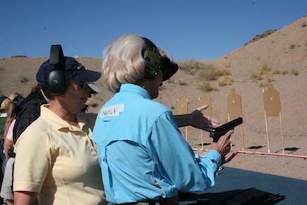 Kay Miculek ladies action shooting camp