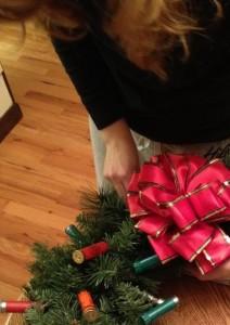 shotgun wreath bow