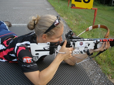 Tracy Barnes rifle