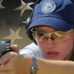 Julie Golob shoots Smith & Wesson gun