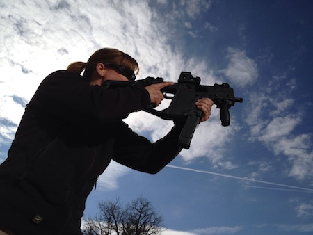 Sara Ahrens gunsite shooting