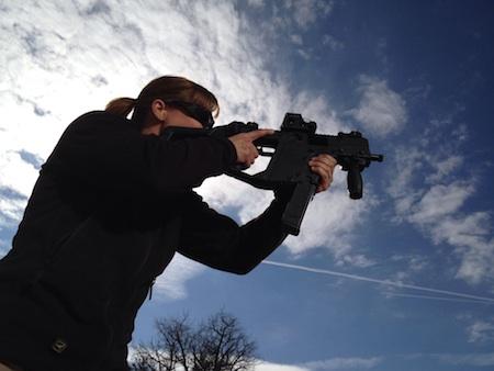 Sara Ahrens gunsite shooting