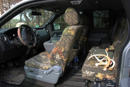 Superhides Seat Covers >> Retro WON -- Marti Davis Afield: She Likes Marathon Seat Covers for Her Truck