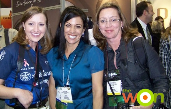 Julie, Mia, and Barb, Prois SHOT Show 2011 copy