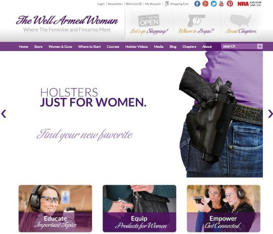 the well armed woman website