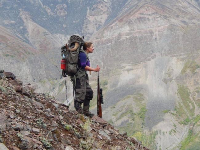 Kaason Braendel on Alaskan hunt