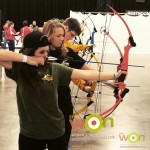 The National Archery in the Schools Program held a match for 6 schools in the Family Adventure Village, which featured lots of hands-on activities for children.