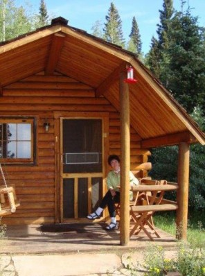 hunting-cabin