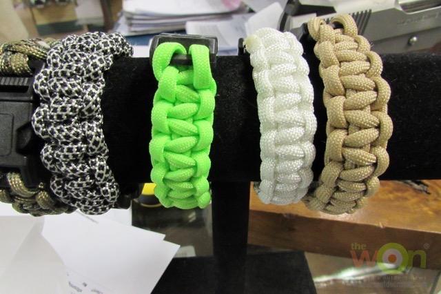 survival bracelet-gunsite