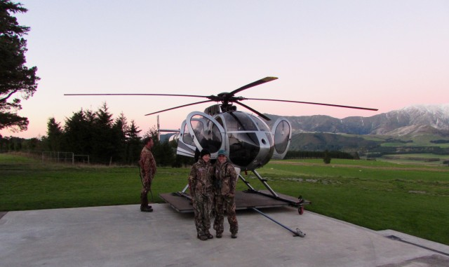Preparing-for-New-Zealand-helicopter-hunt-Hank-Anstine-photo