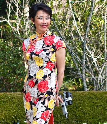 Vera Koo Chinese silk dress