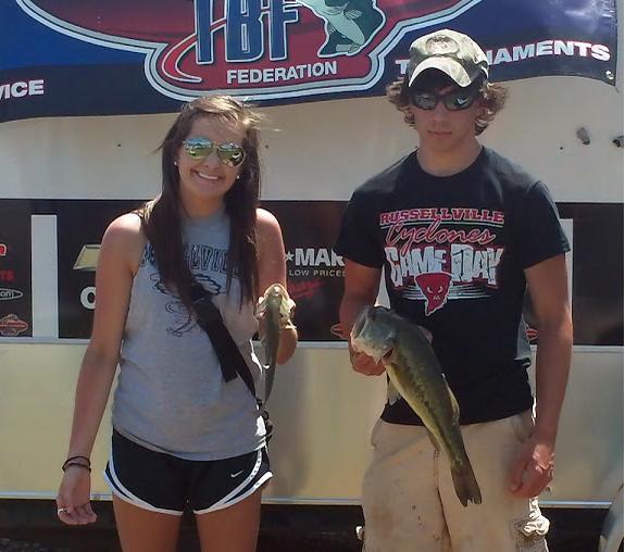Arkansas High School fishing tournament
