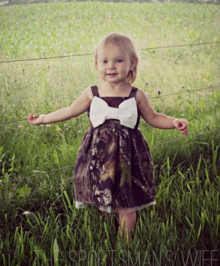 Camo Bow Dress