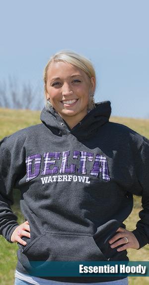 Delta waterfowl hoodie