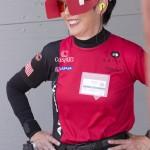 Vera Koo blinders on shooting glasses
