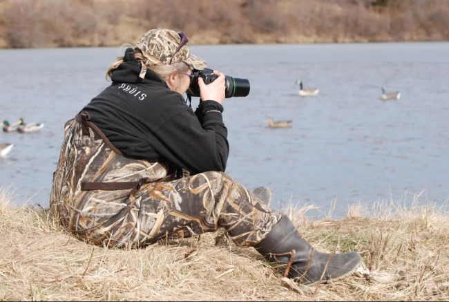 Waterfowl-Photographer