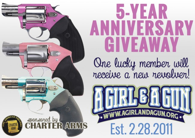 A Girl & A Gun Announces 5 Year Anniversary Giveaway