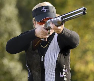 Syren shotgun shooter Anne Mauro