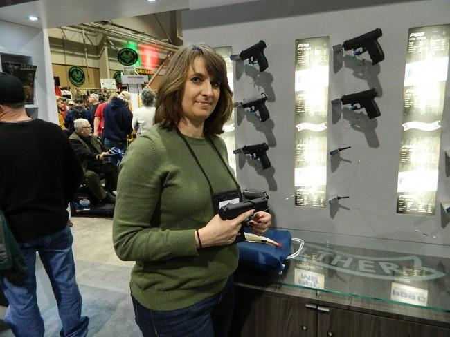 Walther-handgun