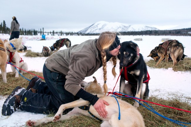 kristy-berington-kissing-dog Dog Care