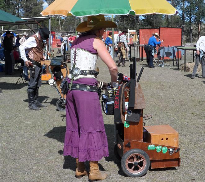 Cart-competing-shooting