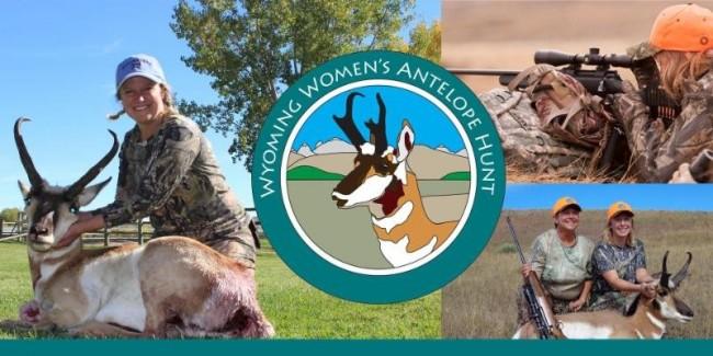 Wyoming Women's Antelope Hunt mural