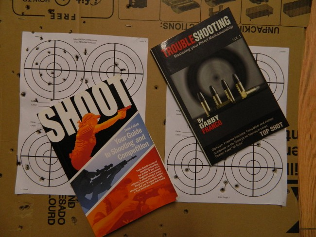 Golob Franco books targets shooting