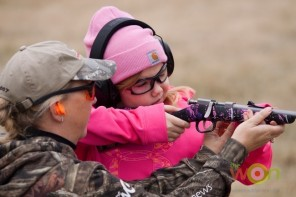 Marti Davis Muddy Girl camo rifle Project ChildSafe