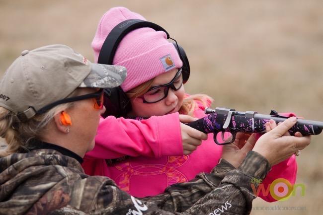 Marti Davis Muddy Girl camo rifle Project ChildSafe