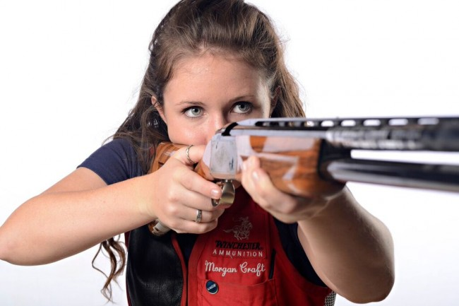 Morgan Craft Team USA Woman Shotgun