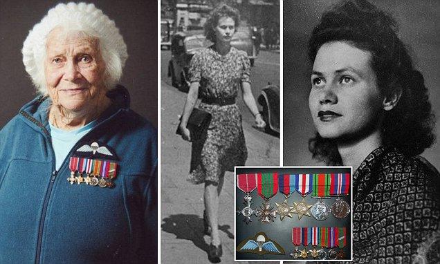 Phyllis Latour Doyle WWll British spy