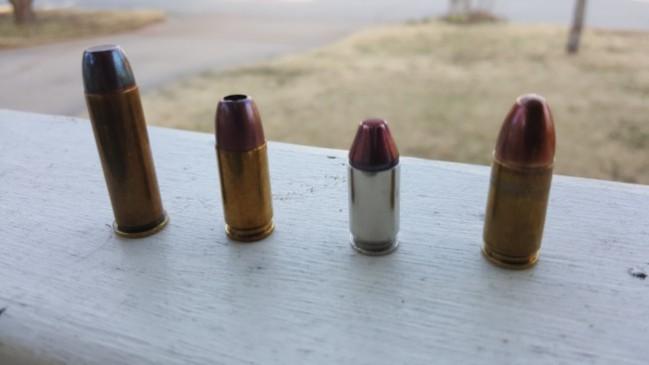 bullet shapes