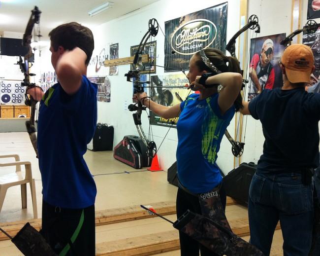 Youth Archery Mia Anstine