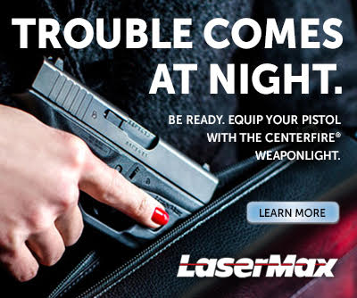 Lasermax Trouble Comes At Night: Centerfire Weapon Light