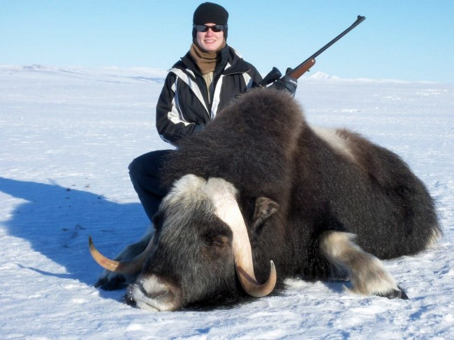 Alaskan women, hunters