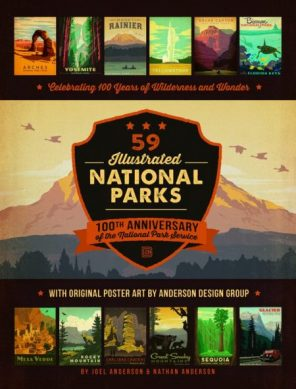 59 Illustrated National Parks book cover