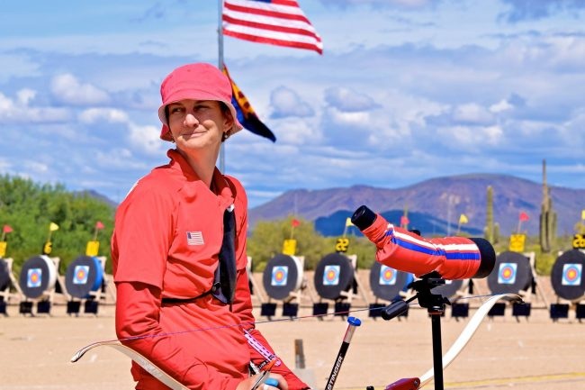 Kinga Kiss-Johnson USA Archery photo