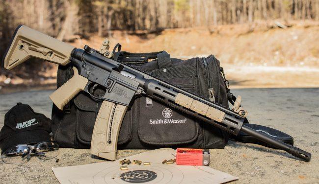 sport rifle magpie