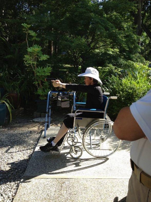 Vera Koo fractured leg