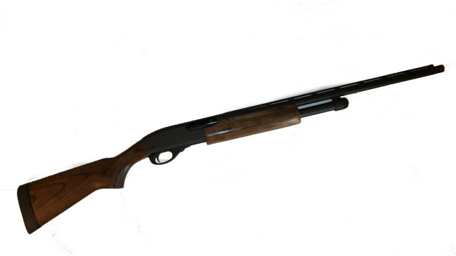 Pump-action, remington