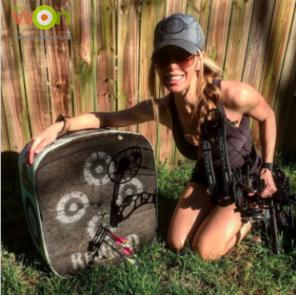 Julie-McQueen-practice-archery