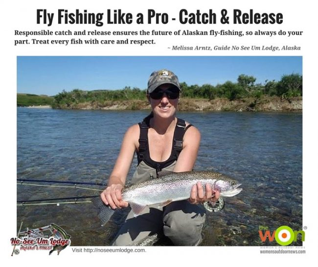 how to catch and release fish