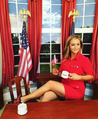 Katie Pavlich tennis shoes