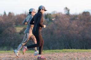 Jen & Norissa running