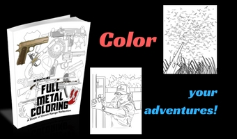 Full Metal Coloring Adult Coloring Book Range Reflections