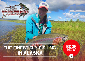 No See Um Lodge, the Finest Fishing In Alaska
