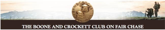 Boone-Crockett-Boone and Crocket-Fair Chase